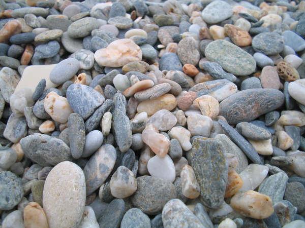Foto playa Carchuna. piedras
