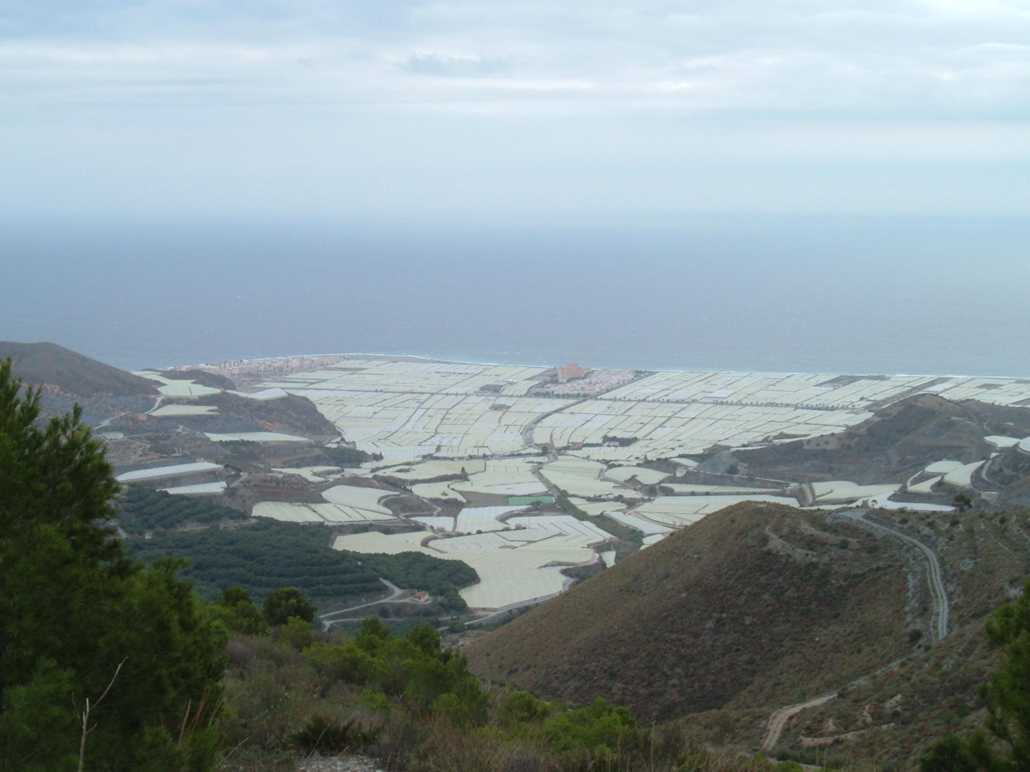 Foto playa Carchuna.  vue sur la perla