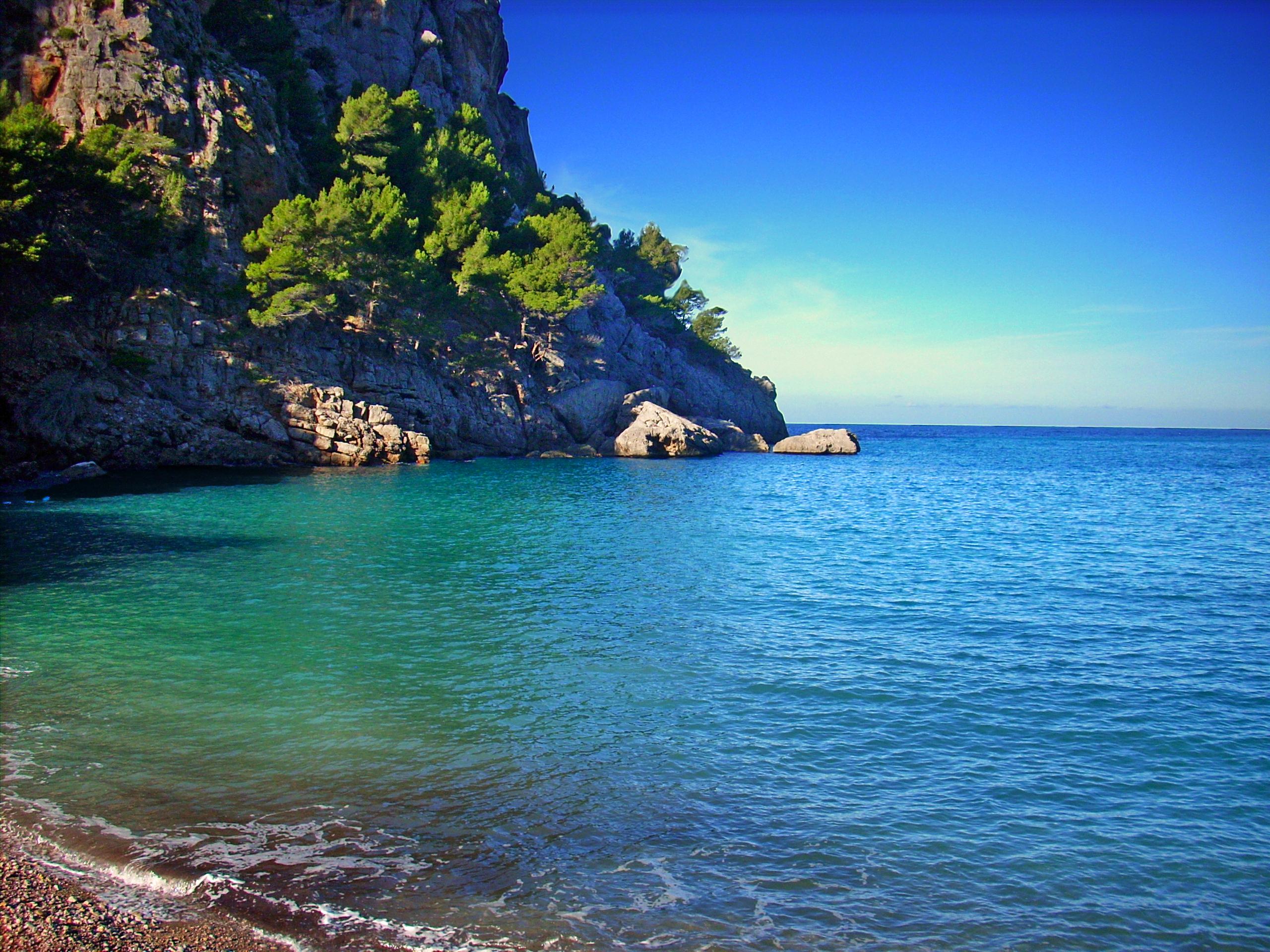 Foto playa Cala Fotuda / Ses Fel-les. La Calobra CM