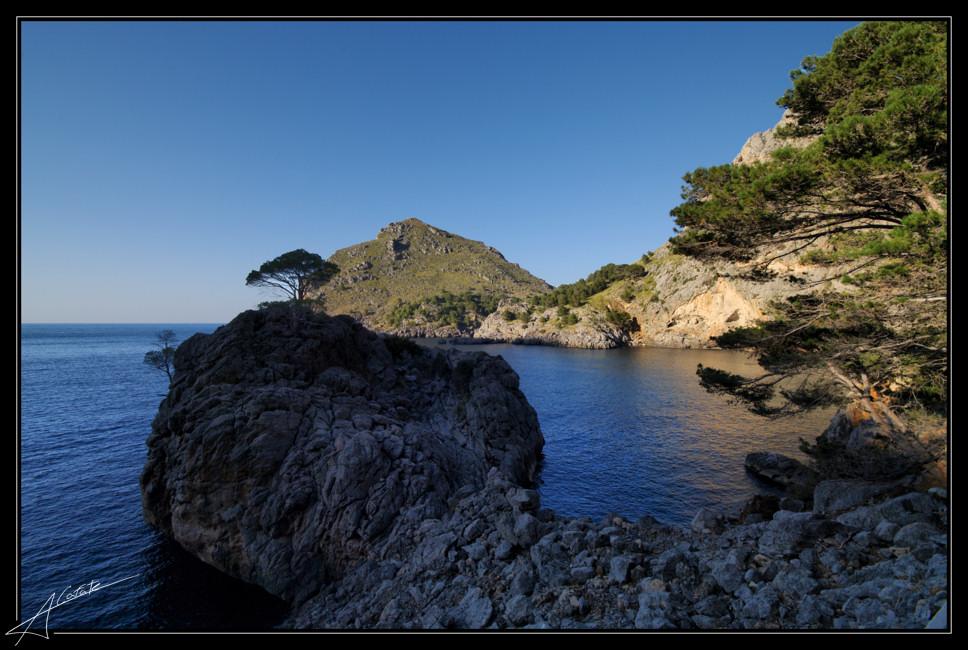 Foto playa Cala Teix. Sa Calobra - torrent de Pareis -  Mallorca - Buy a print in - http://cafate.blogspot.com/