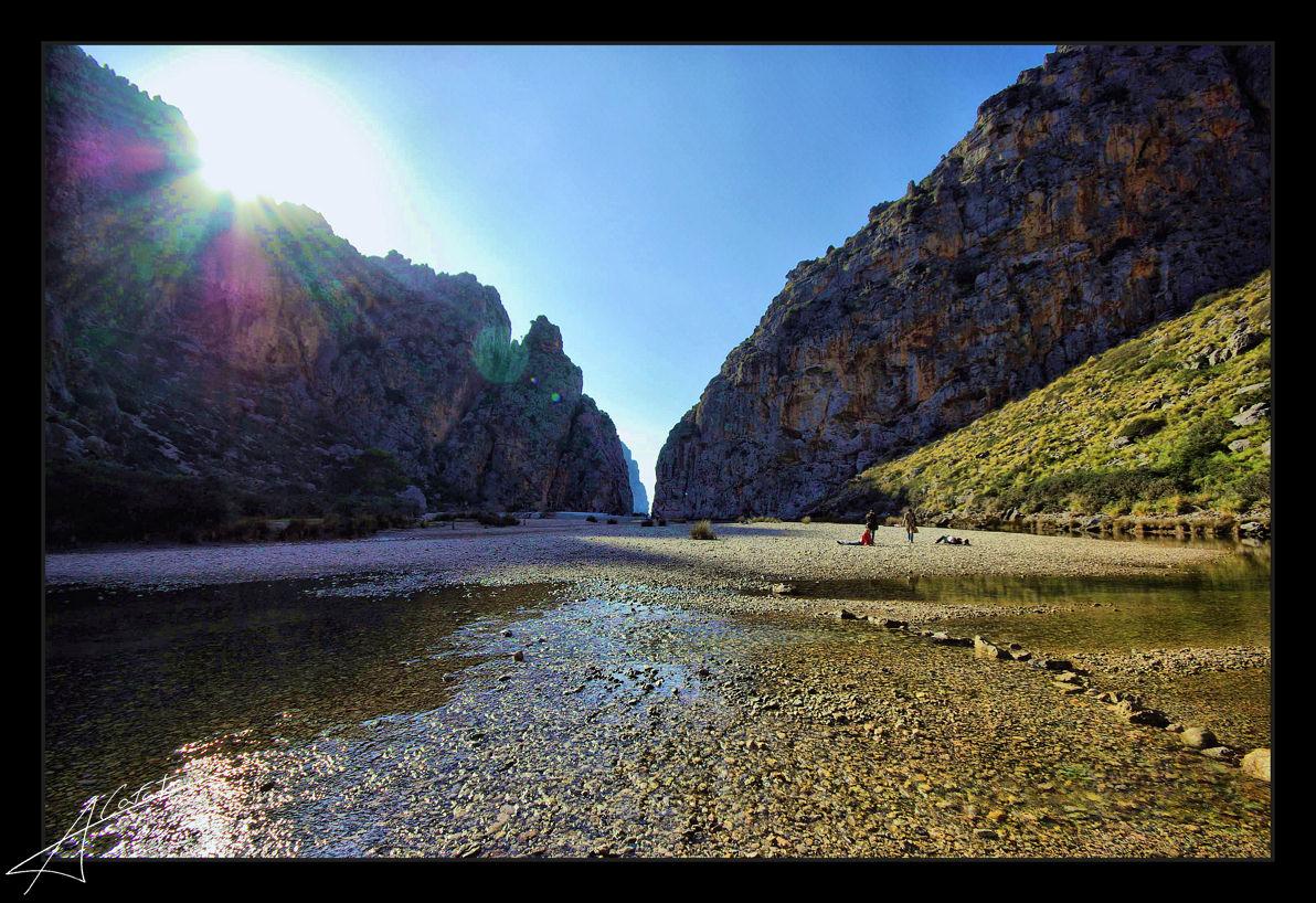 Foto playa Cala Capellans. Sa calobra - Illes Balears - Buy a print in - http://cafate.blogspot.com/