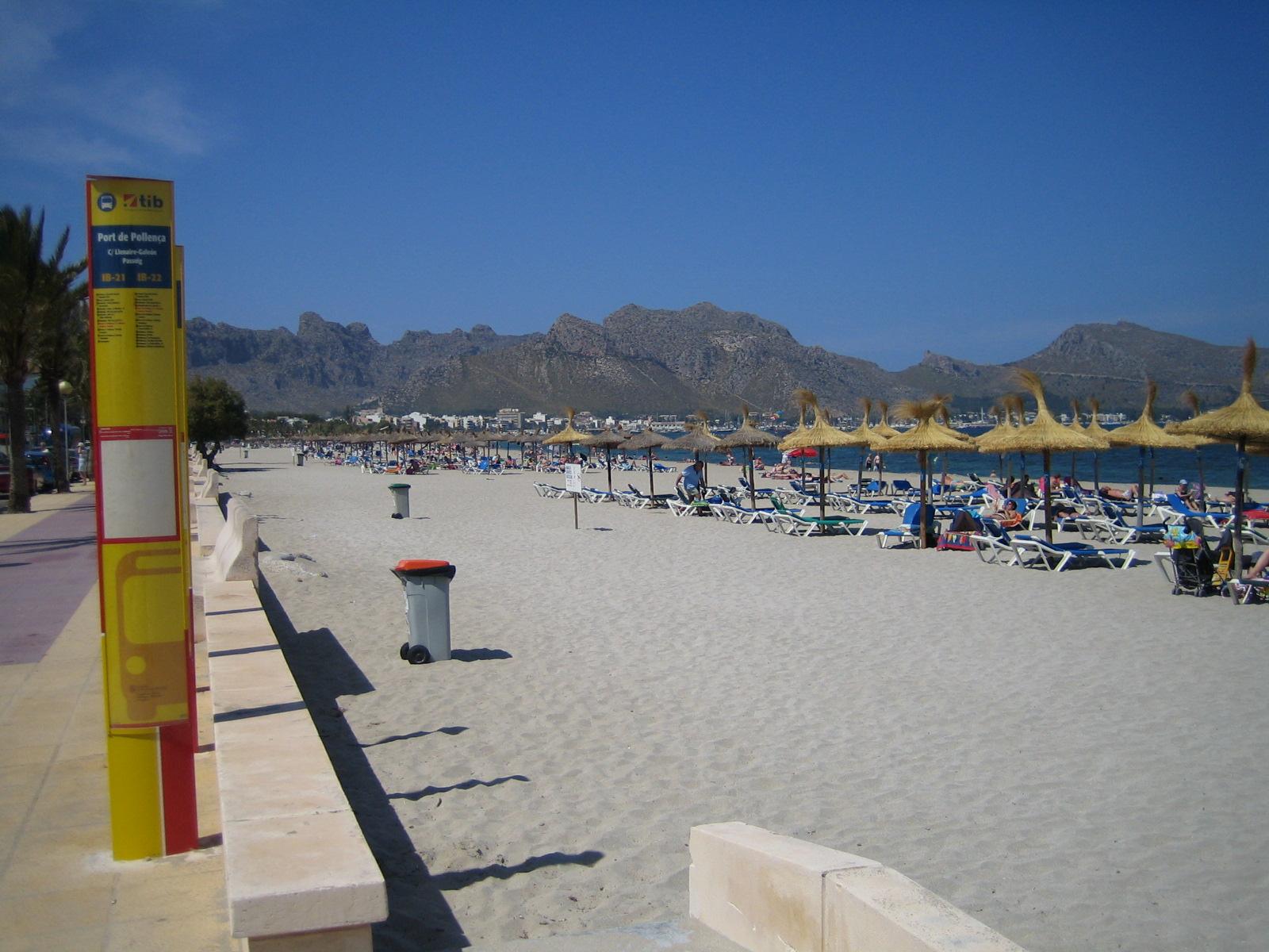 Foto playa Port de Pollença / Platja de Llenaire / Platja dels Tamarells. Port de Pollenca