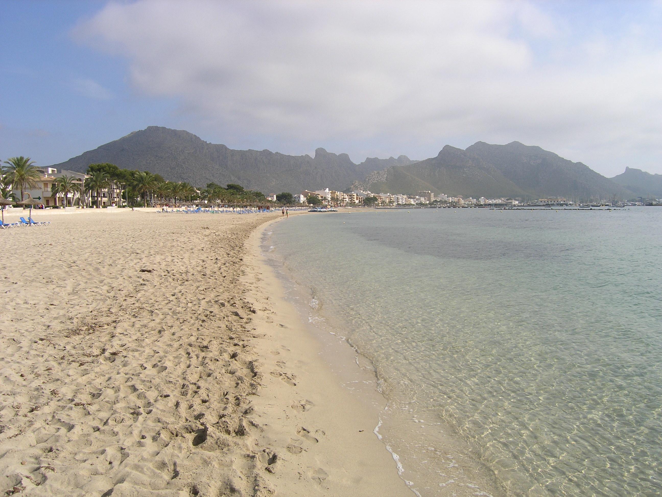 Foto playa Port de Pollença / Platja de Llenaire / Platja dels Tamarells. Porta Pollensa