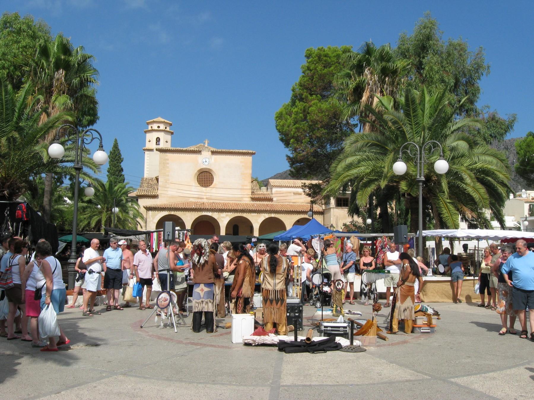 Foto playa Platja d´Albercuix / Albercutx. Pollensa Market - www.europanoramas.eu