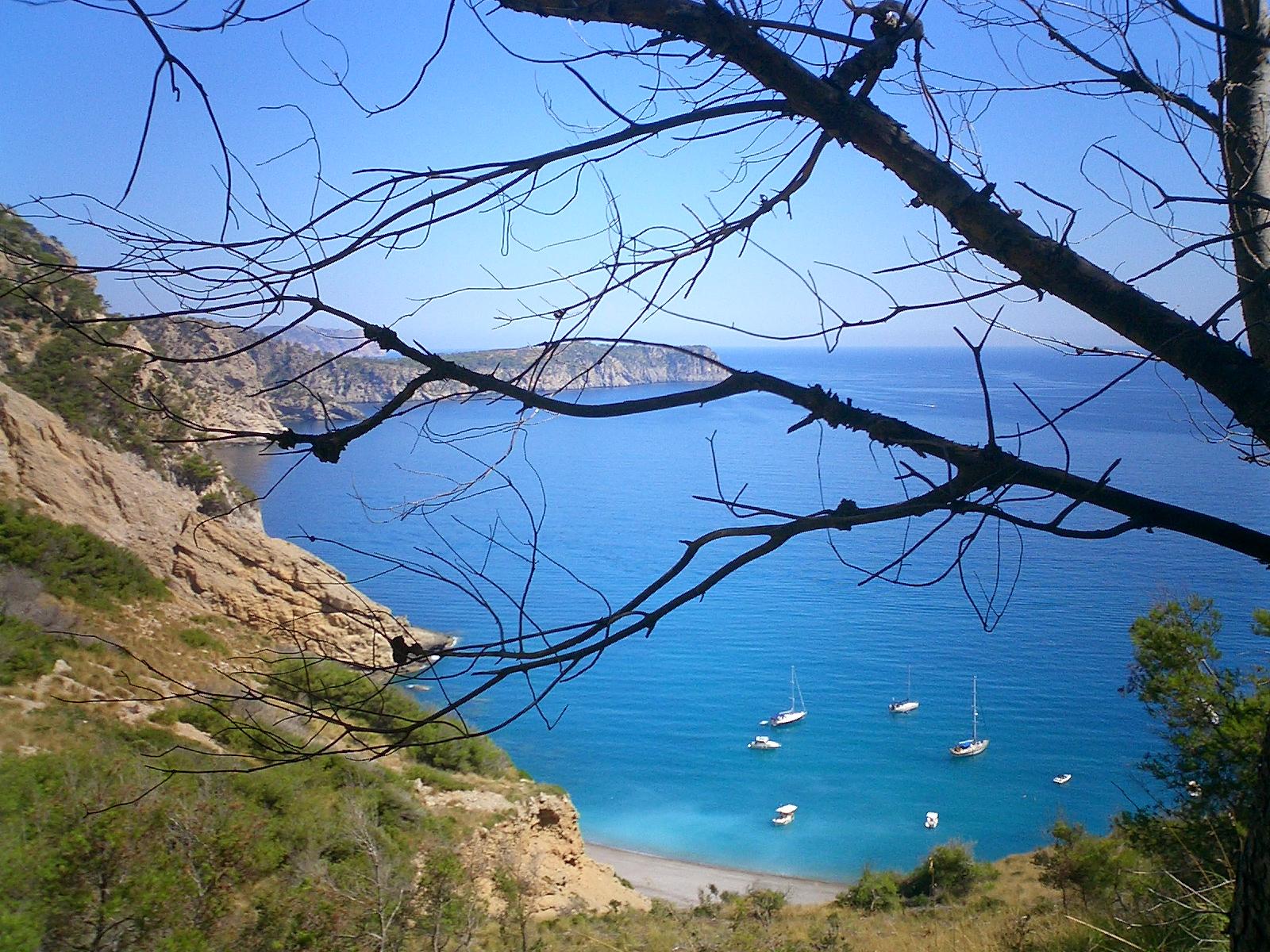 Foto playa Coll Baix. Coll Baix