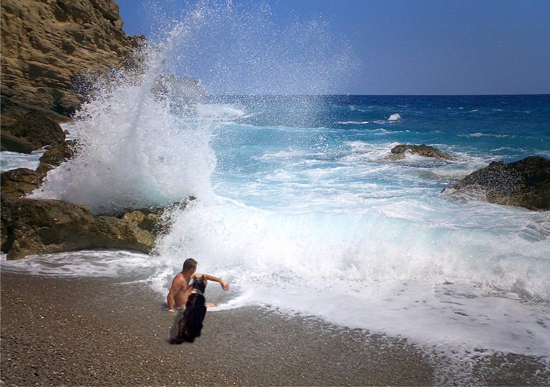 Foto playa Coll Baix.