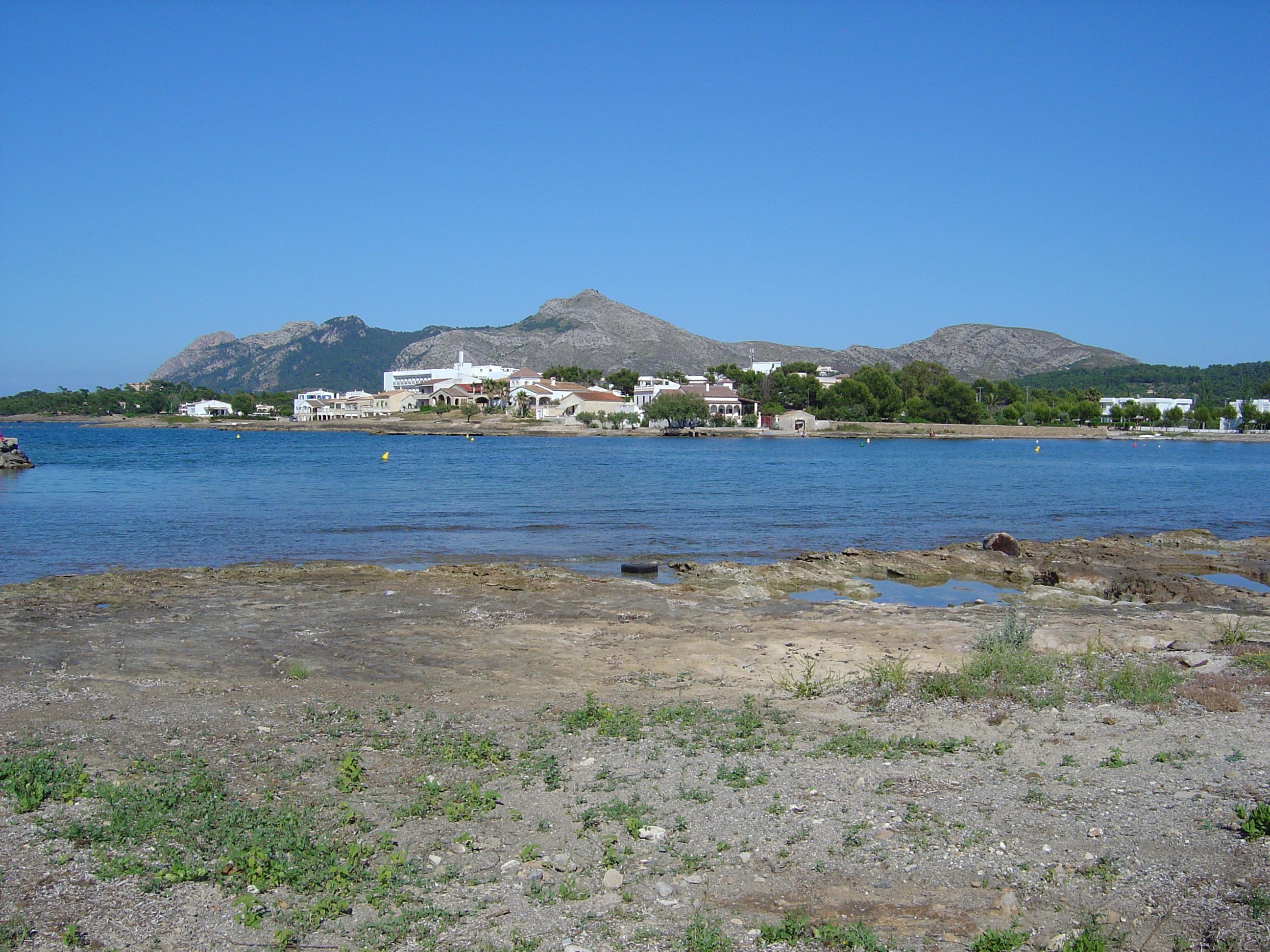 Foto playa Alcudia. Es Barcarès