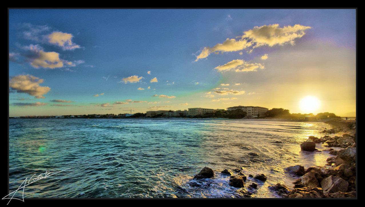Foto playa Muro. Platja de Muro - Illes Balears - Buy a print in - http://cafate.blogspot.com/