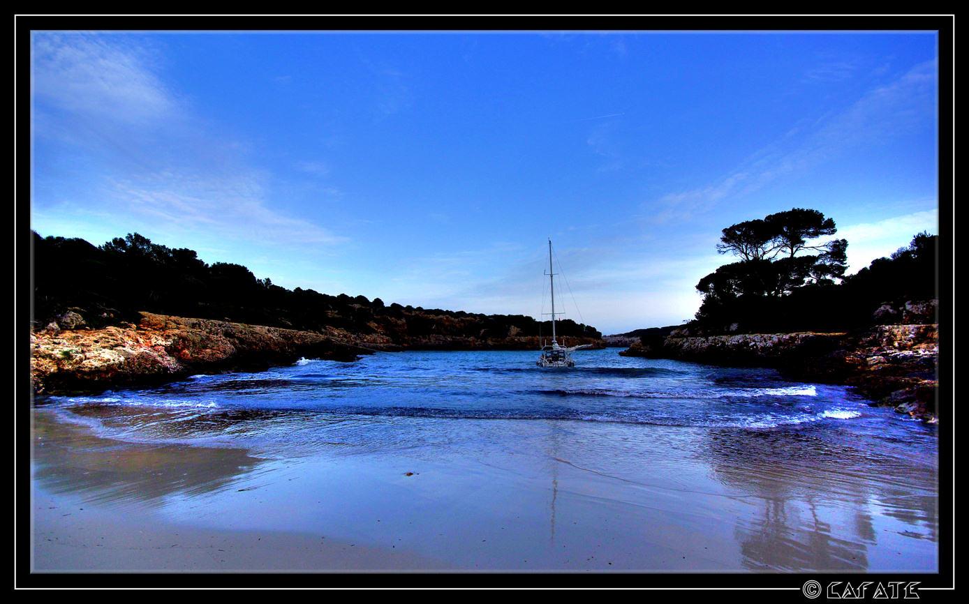Foto playa Cala Mitjana. Cala Sanau - Mallorca - Buy a print in - http://cafate.blogspot.com/