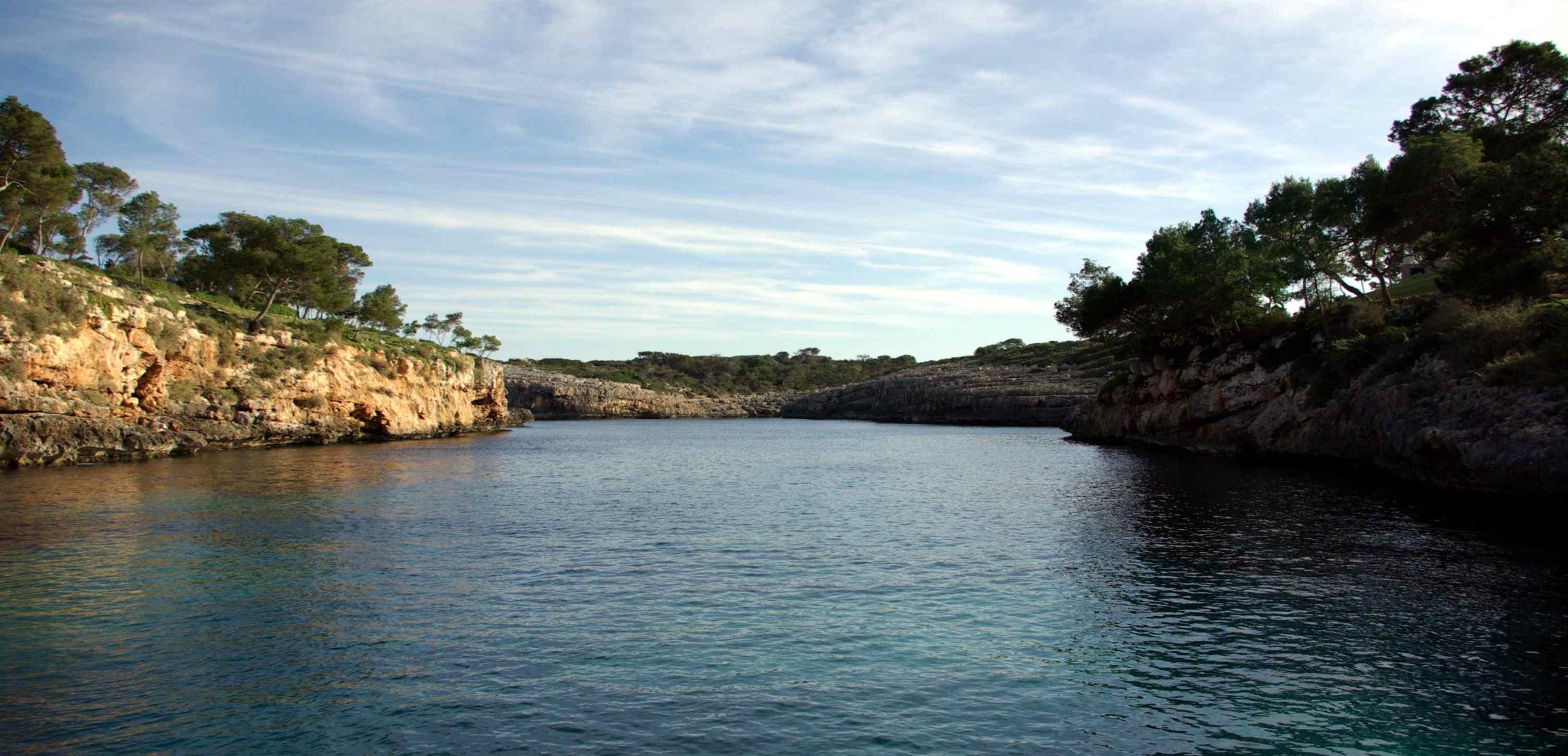 Foto playa Cala Mitjana. Cala Mitjana - Buy a print in - http://cafate.blogspot.com/