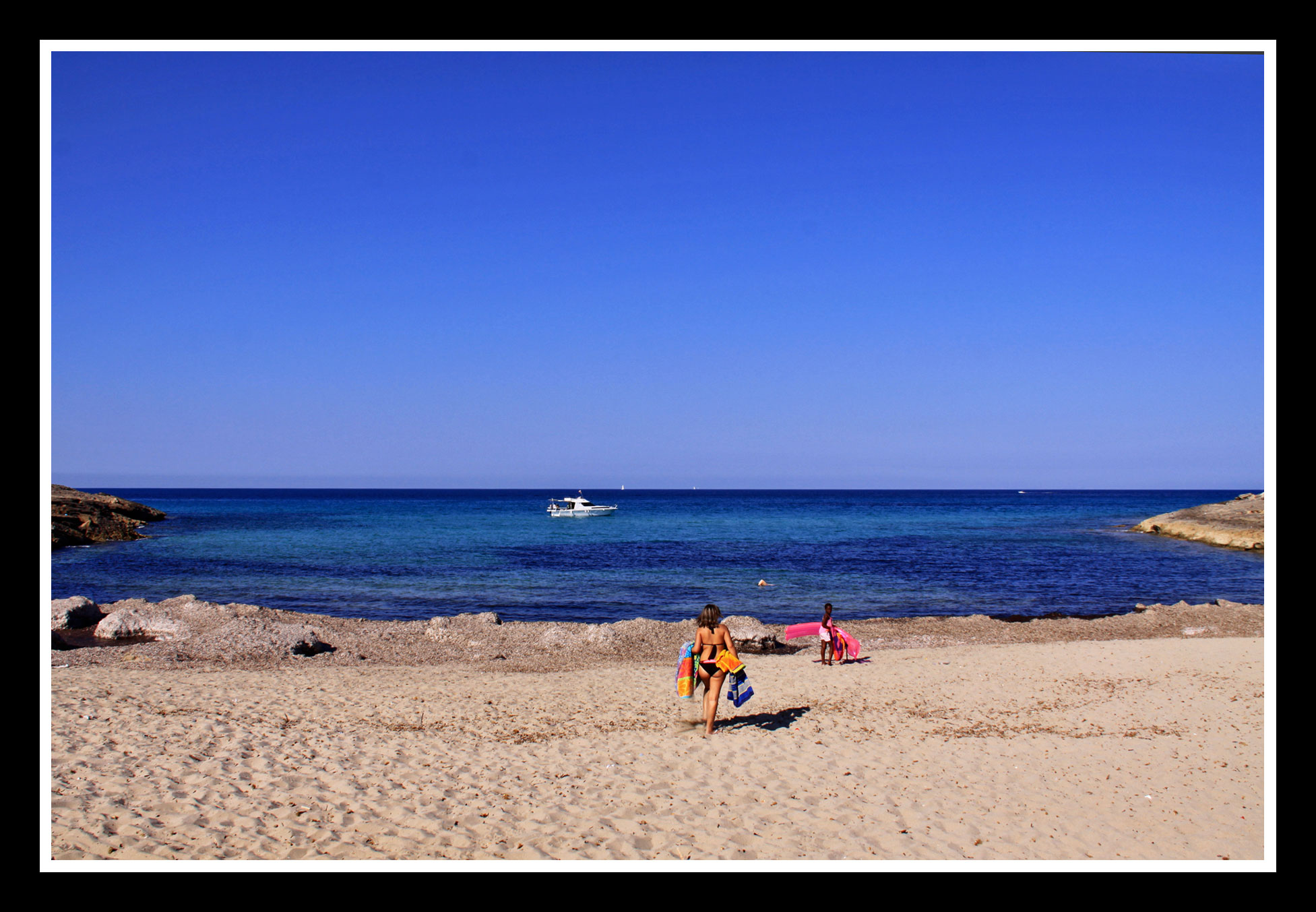 Foto playa Cala Torta. CALA MITJANA
