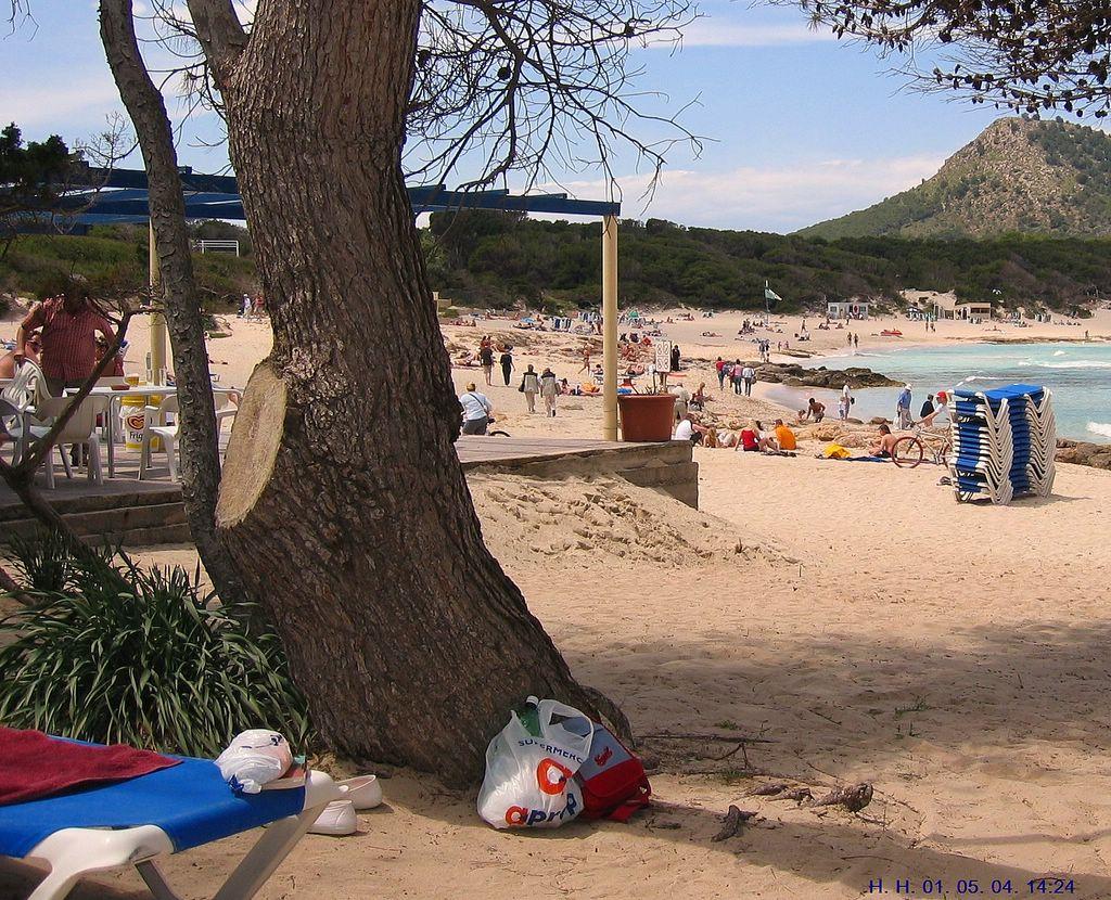 Foto playa Cala Agulla. Cala Agulla in Cala Ratjada auf Mallorca.