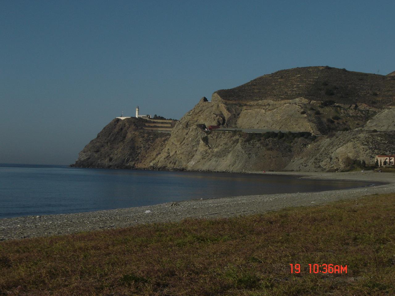 Foto playa La Joya. Cabo Sacratif. Torrenueva