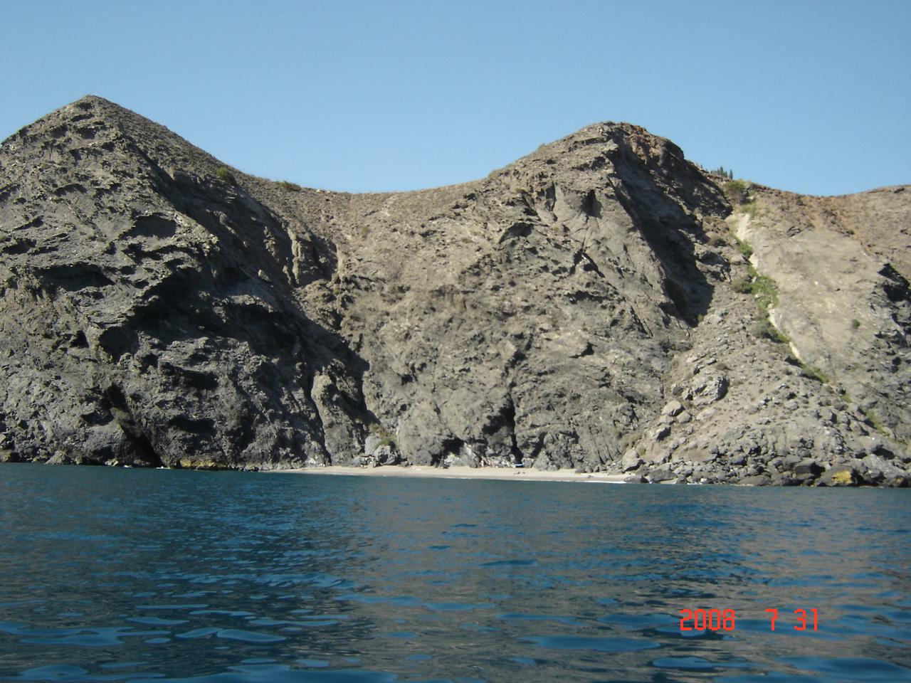 Foto playa La Joya. Playa del Faro Sacratif. Torrenueva