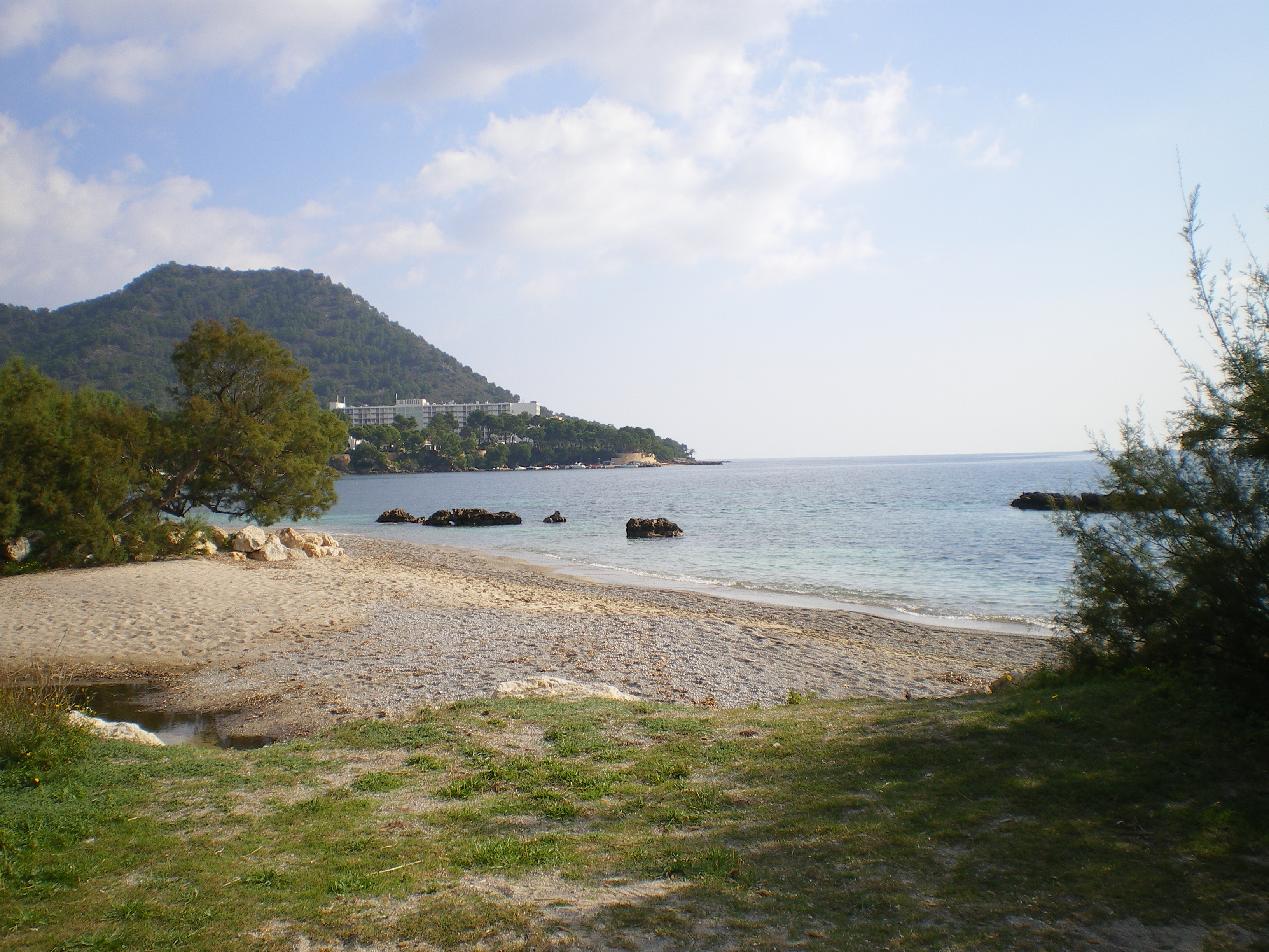 Foto playa Port Vell. Costa des Pins