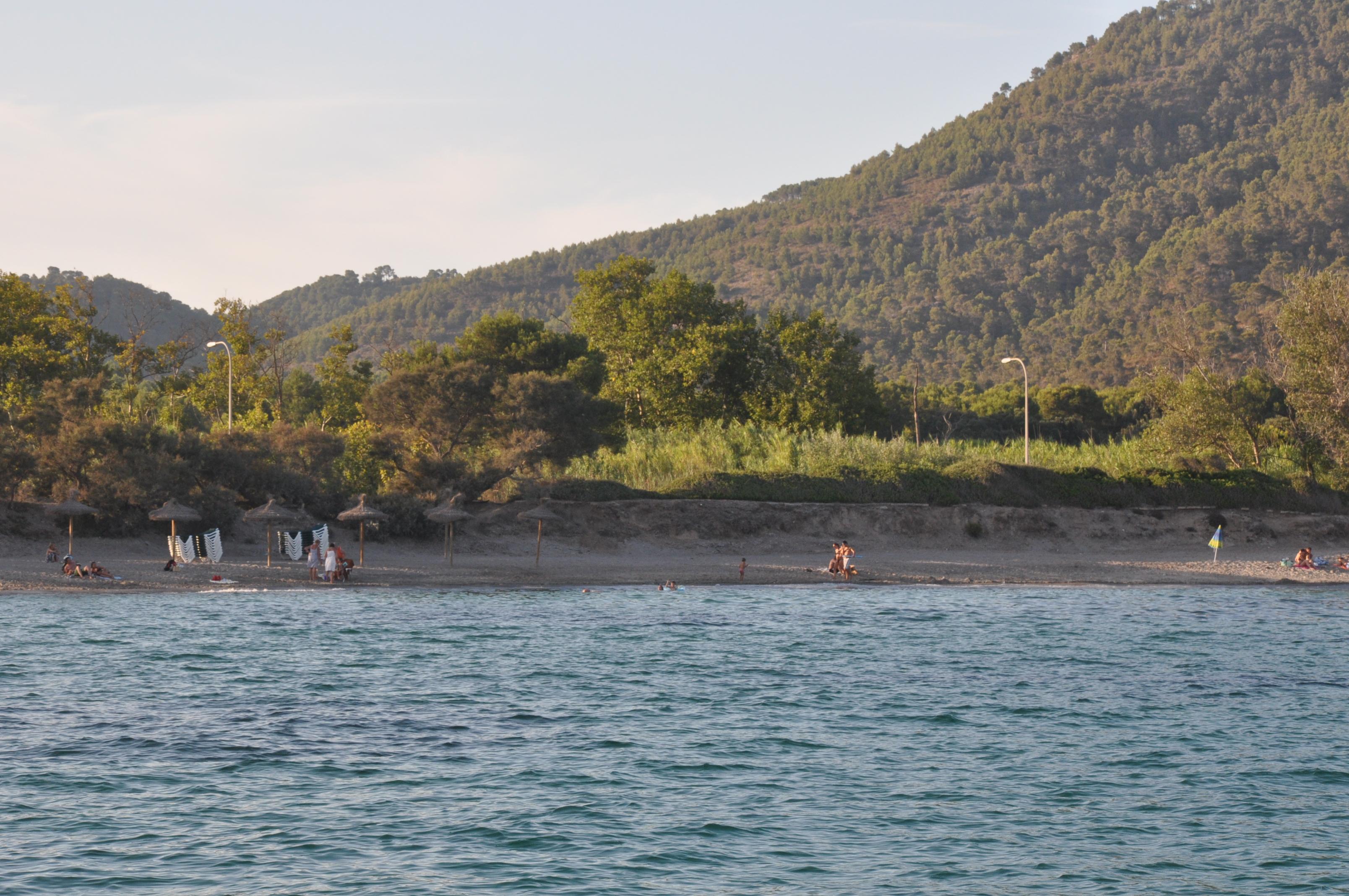 Foto playa Port Vell. Costa des Pins - Mallorca