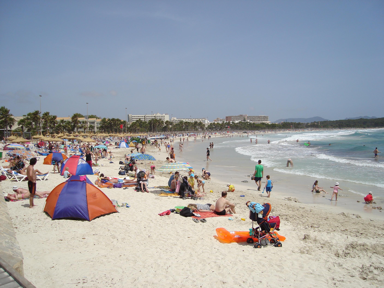 Foto playa Cala Moreia / S´Illot. Sa Coma 1 VB