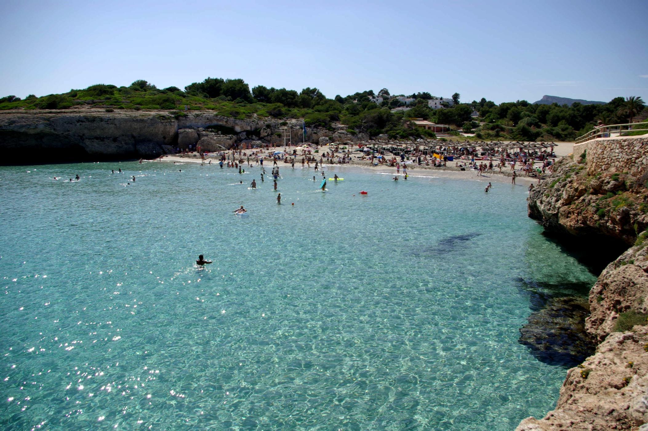 Foto playa Porto Cristo / Platja d´es Port / Coves Blanques. Cala Domingos Mallorca - Buy a print in - http://cafate.blogspot.com/