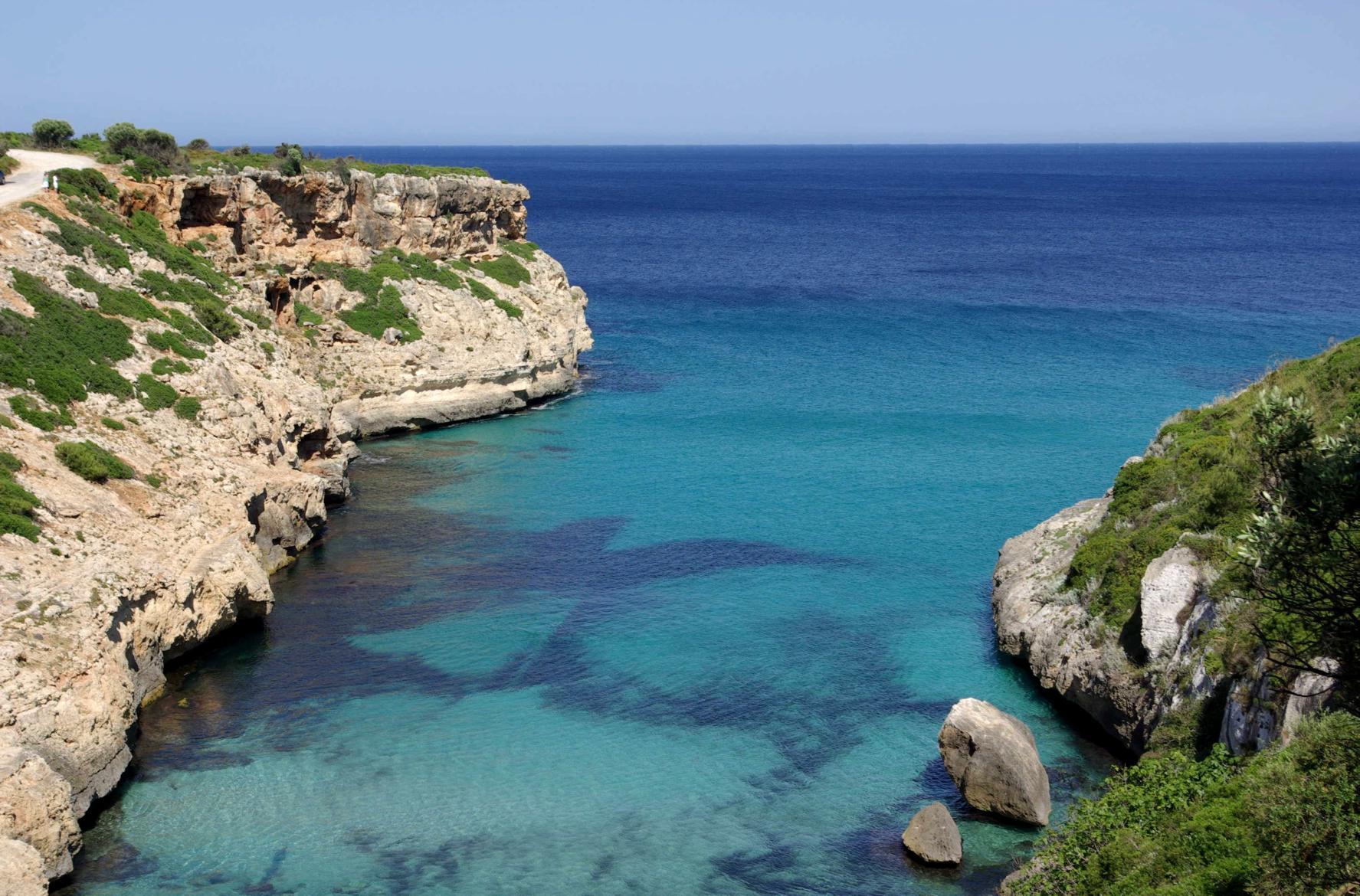 Foto playa Cala Domingos / Cala Es Domingo Gran. Cala Antena - Cales de Mallorca - Buy a print in - http://cafate.blogspot.com/