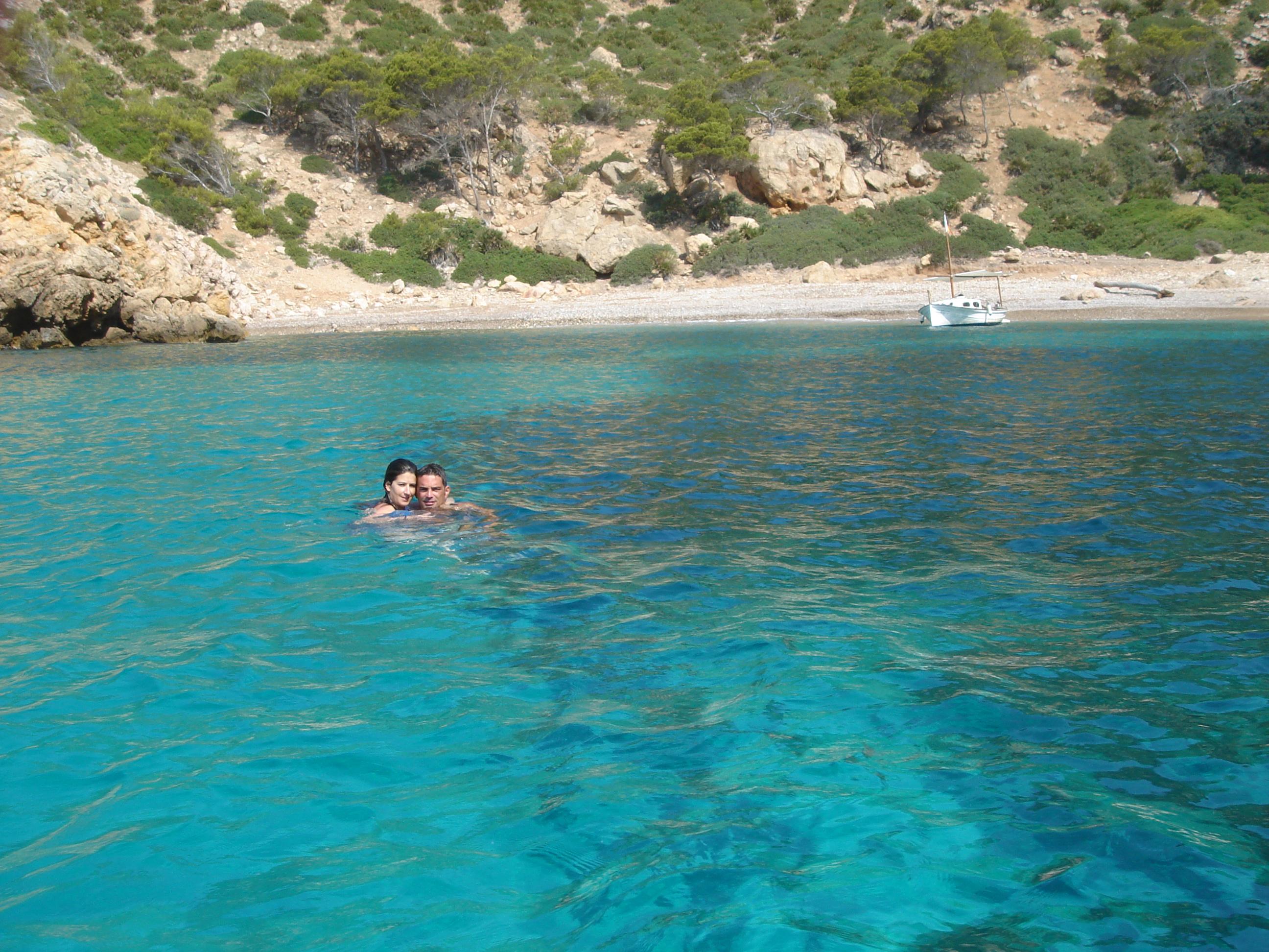 Foto playa Cala Egos / Caló de ses Egües. Diving in Cala Egos
