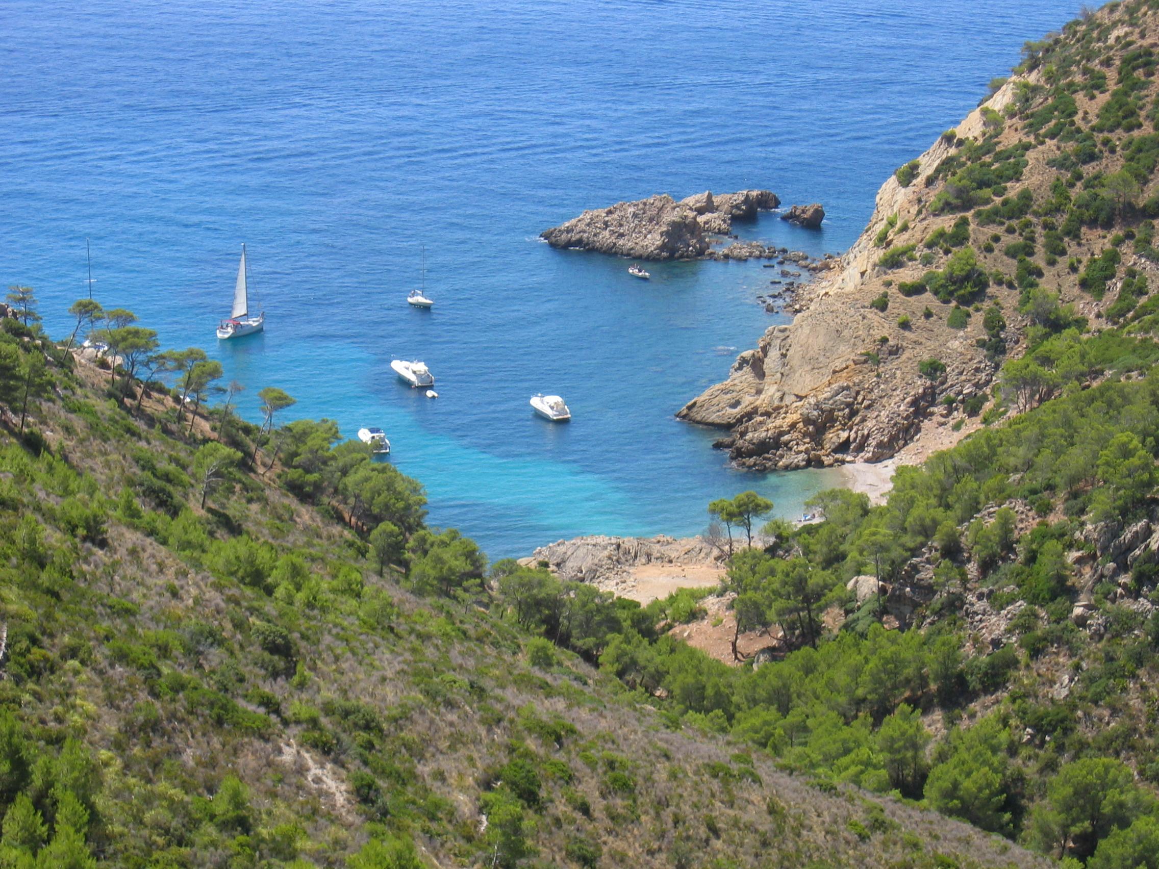 Foto playa Cala Egos / Caló de ses Egües. Mallorca / Port d´ Andratx