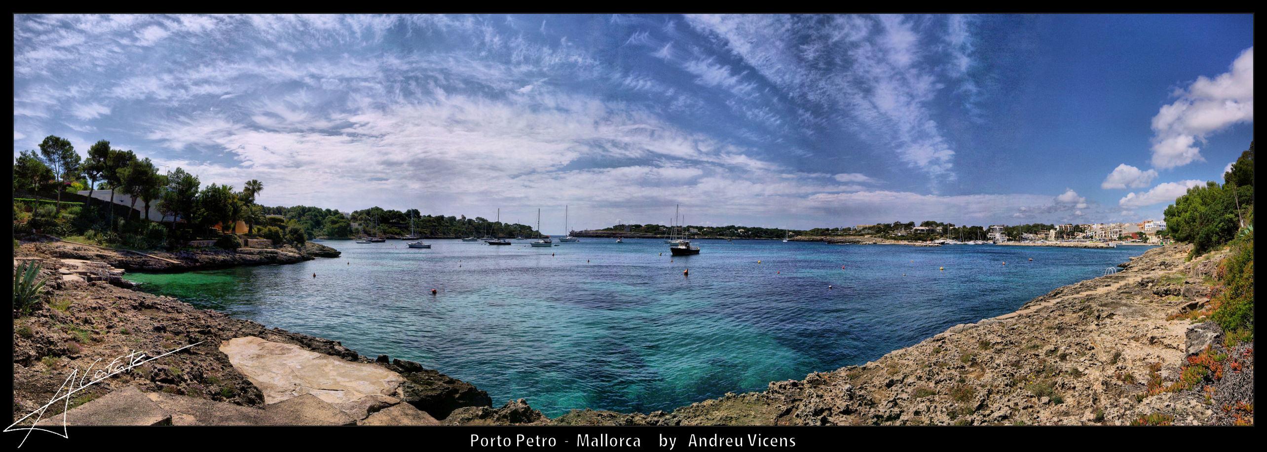Foto playa Caló de Sa Torre. Panoramica Porto Petro - Buy a print in - http://cafate.blogspot.com/