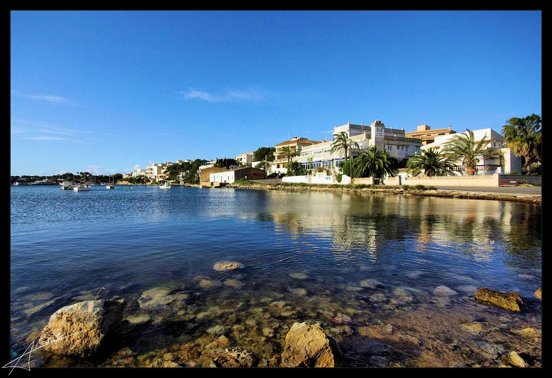 Foto playa Caló de Sa Torre. Porto Petro - Illes Balears - Buy a print in - http://cafate.blogspot.com/