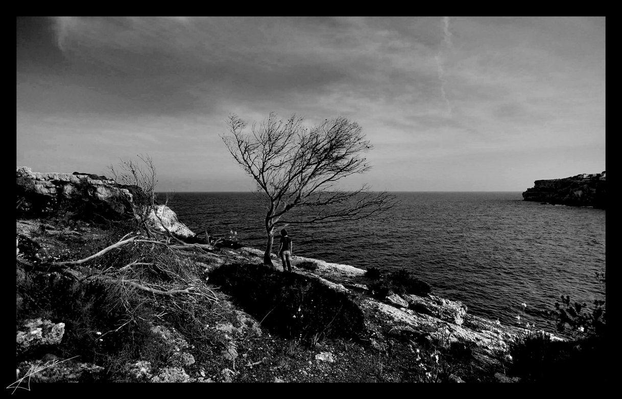 Foto playa Caló Santanyí / Caló de ses Agulles / sa Bagasseta. Cala Santanyi - Illes Balears - Buy a print in - http://cafate.blogspot.com/