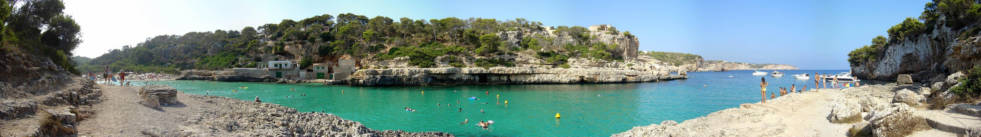 Foto playa Caló Santanyí / Caló de ses Agulles / sa Bagasseta. Cala Llombards