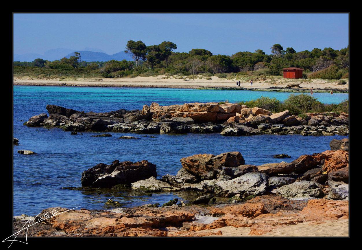 Foto playa Es Dolç. La playa d´Es Dolç - Illes Balears - Buy a print in - http://cafate.blogspot.com/