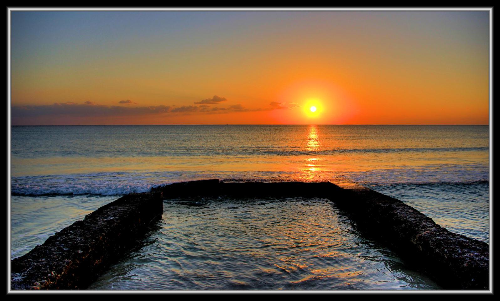 Foto playa Es Trenc. Posta Sol Platja des Trenc - Mallorca - Buy a print in - http://cafate.blogspot.com/