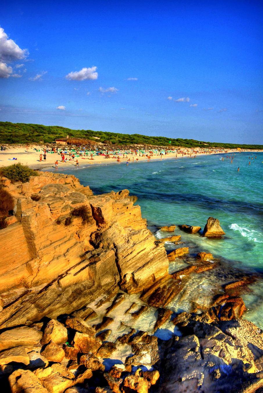 Foto playa Ses Covetes. Ses Covetes Platja des Trenc - Buy a print in - http://cafate.blogspot.com/