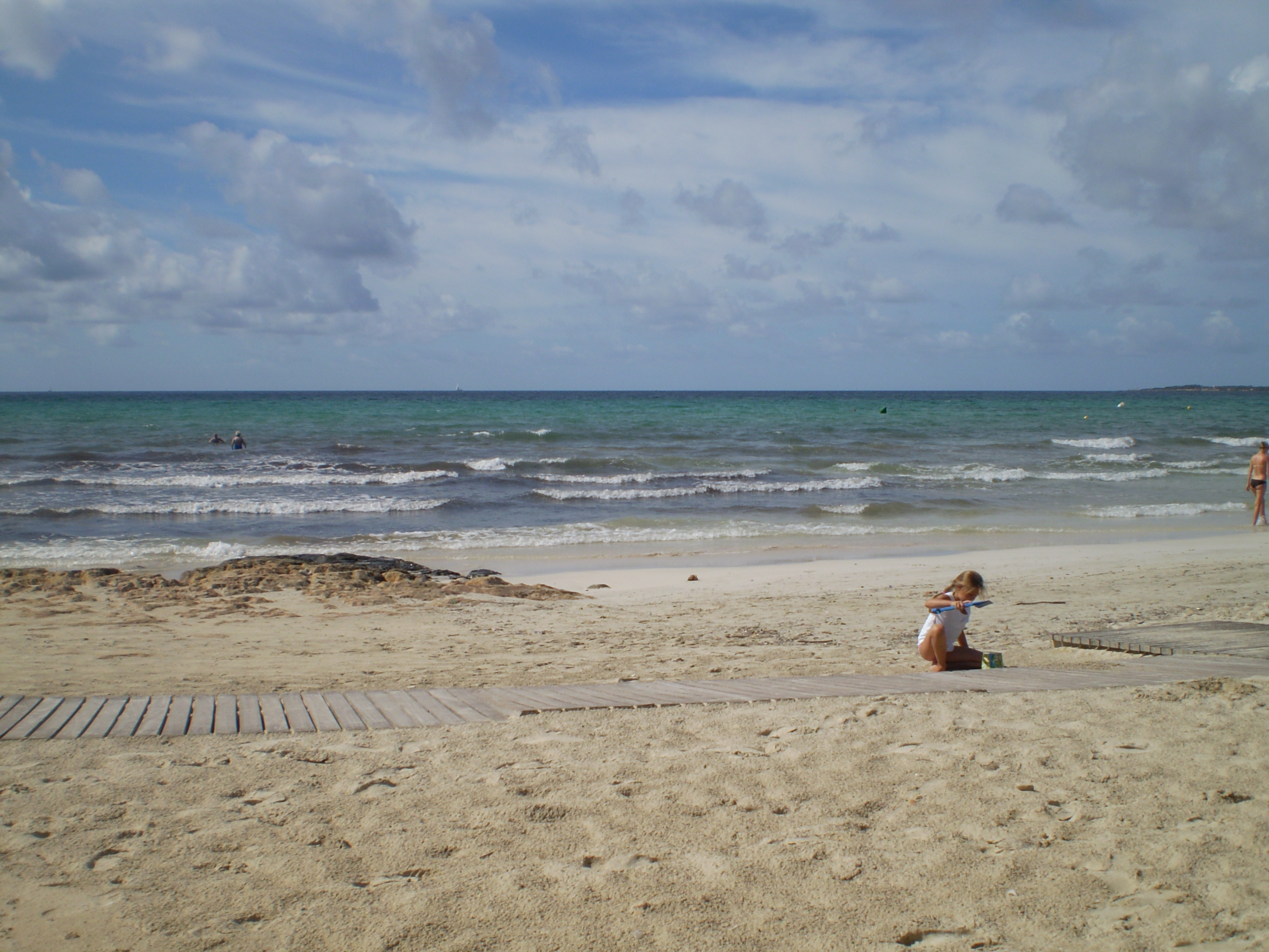 Foto playa Cala Pi. Am Strand von Cala Pi