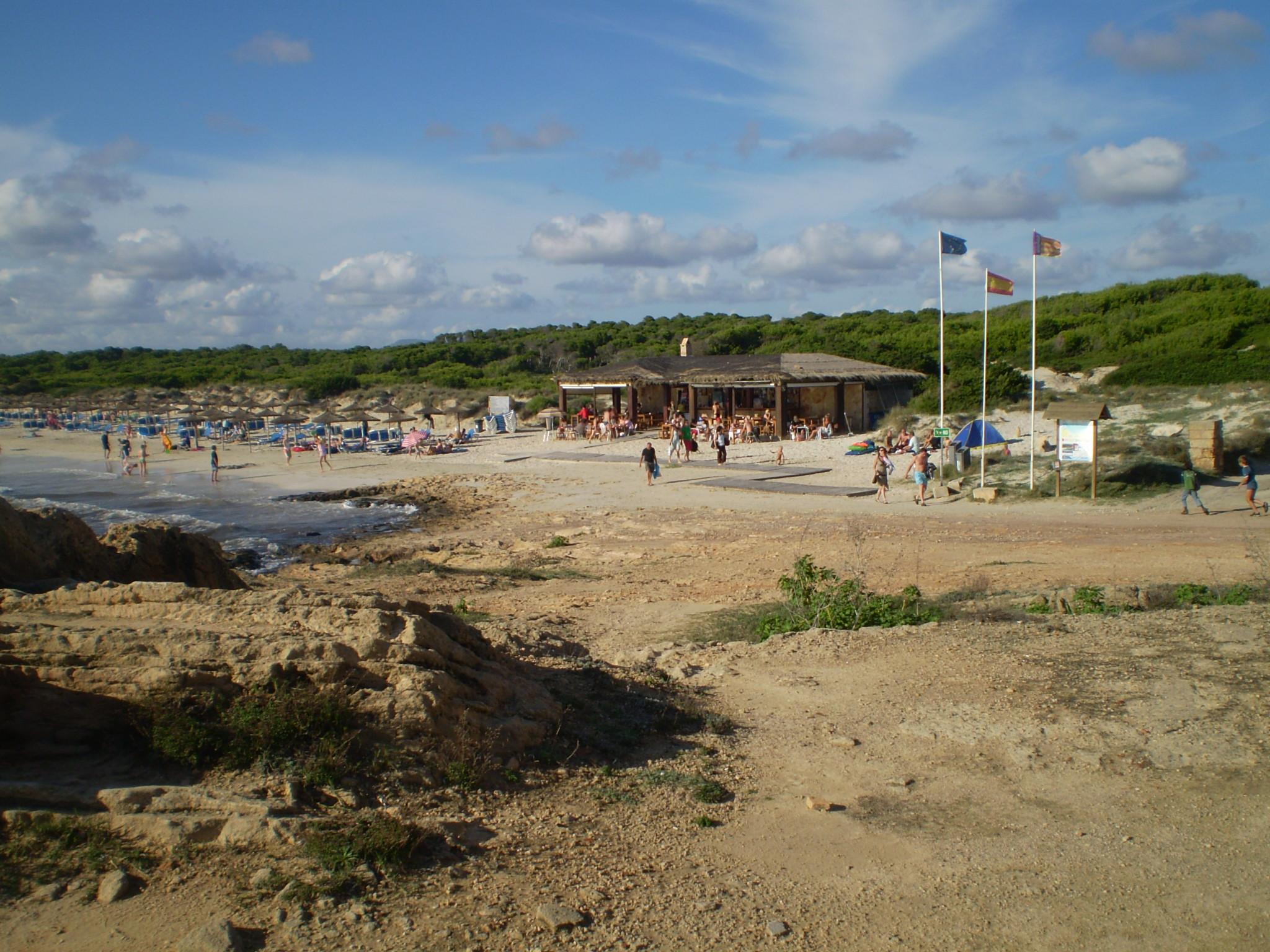 Foto playa Cala Pi. Ausblick auf Meer und Strand