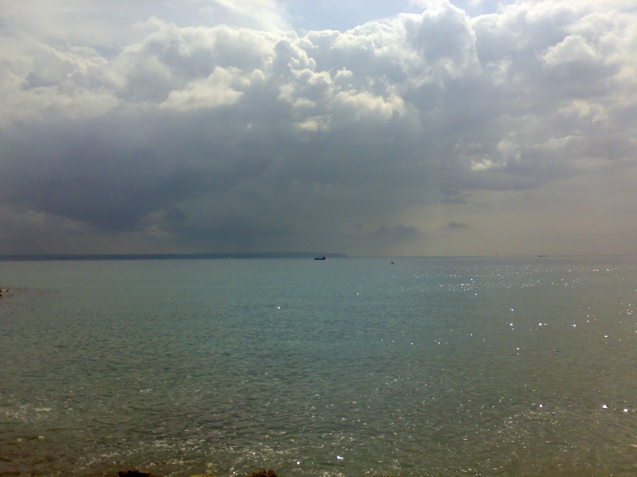 Foto playa Cala Beltrán. Mallorca, schlechtes Wetter