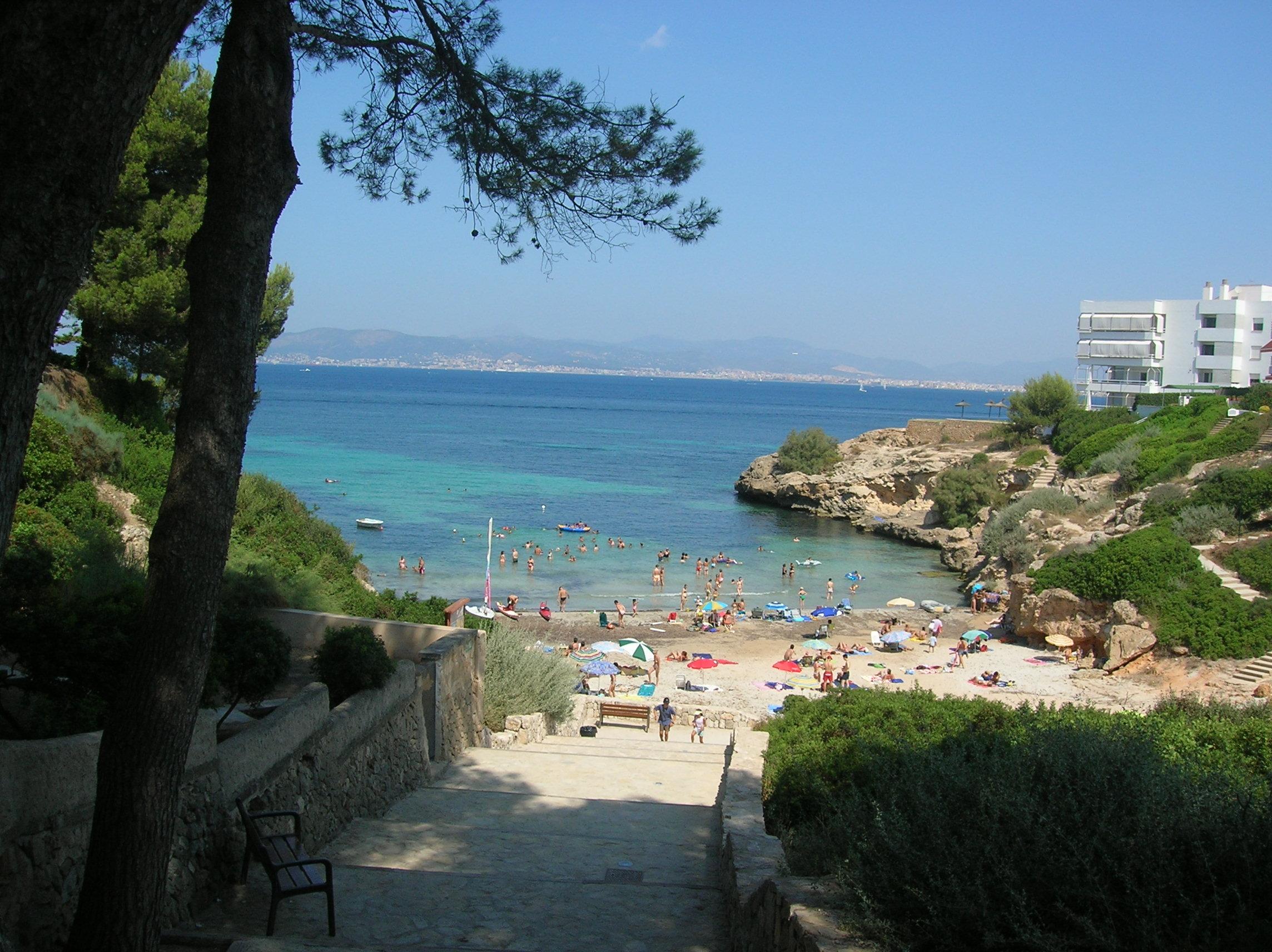Foto playa Cala Blava. CALA BLAVA