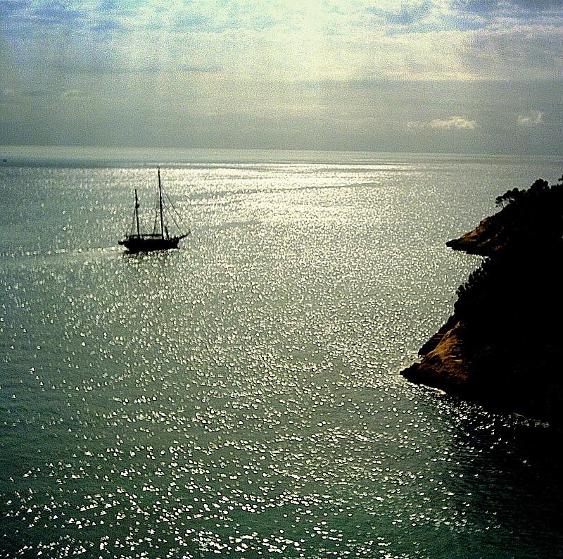 Foto playa Cala Vinyes. the bay