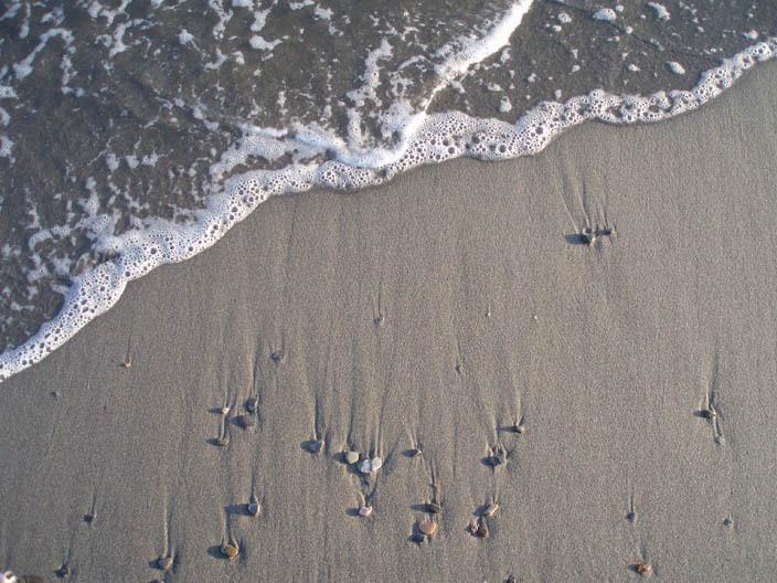 Foto playa Poniente / Pelaillo. Ola