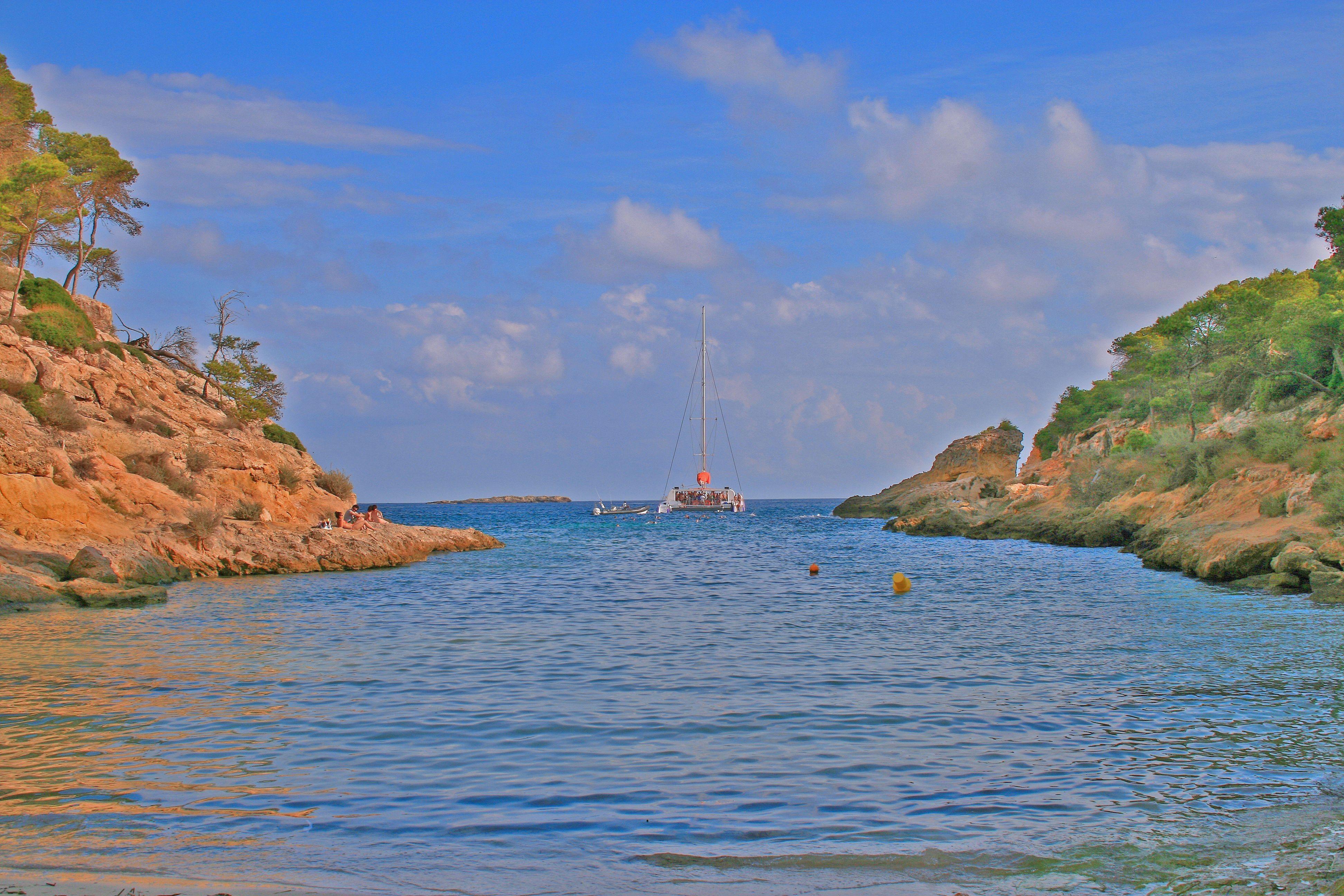 Foto playa Cala Vinyes. Cala de Cap Falcó