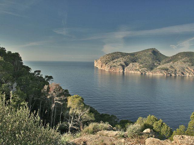 Foto playa Cala Llamp. Nähe Peguera2