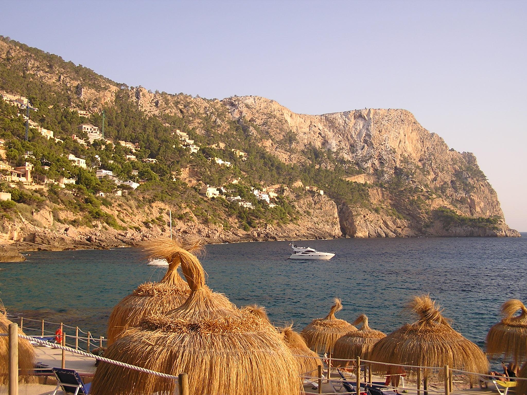 Foto playa Cala Llamp.