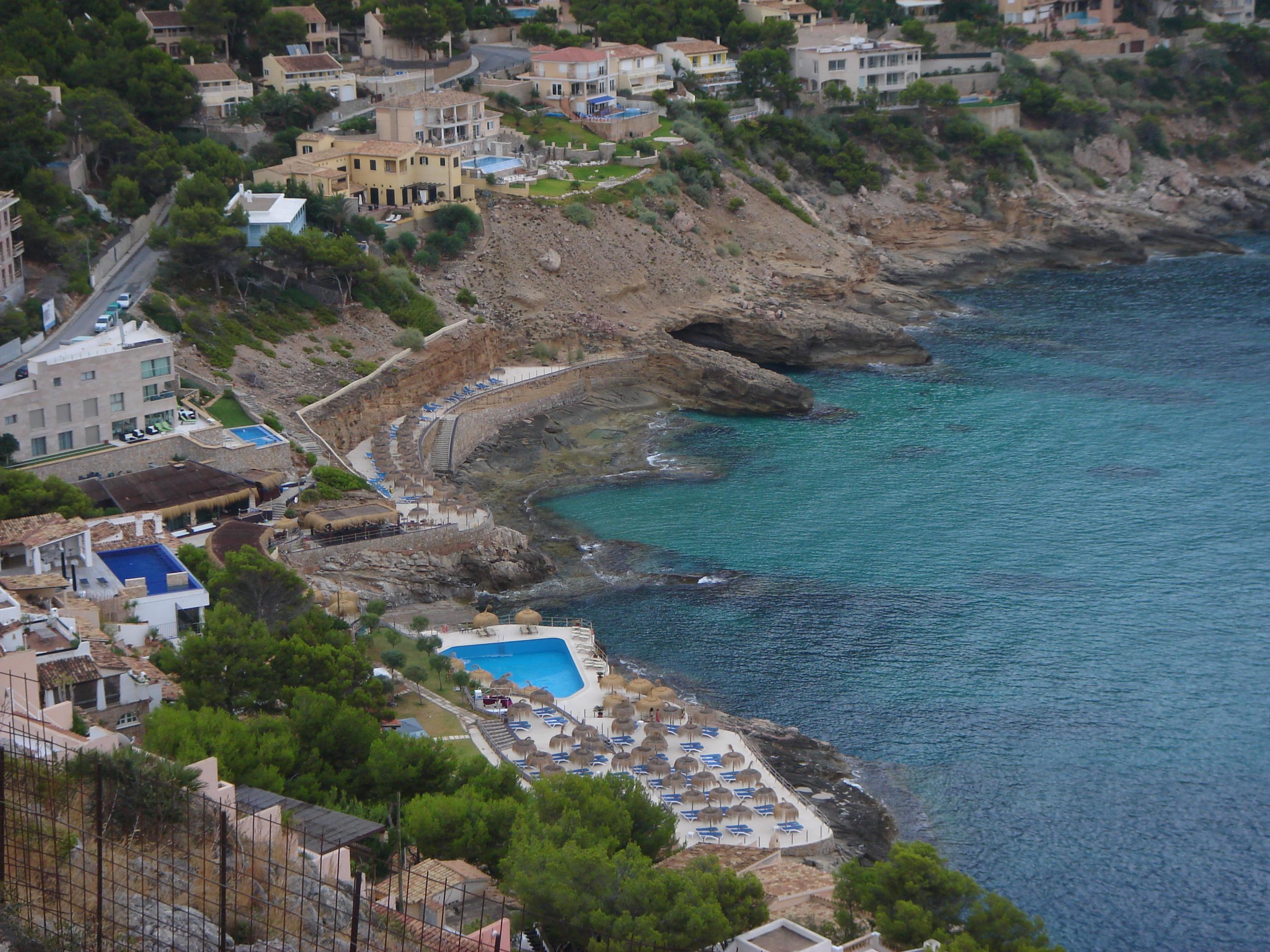 Foto playa Cala Marmassén.  [ n_lorito ] Cala Llamp, Andrax. Mallorca