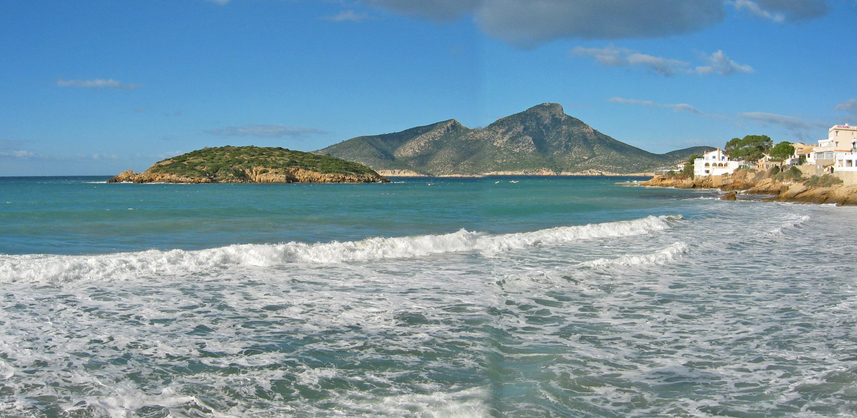 Foto playa Cala En Cucó. Illa Pantaleu i  Dragonera