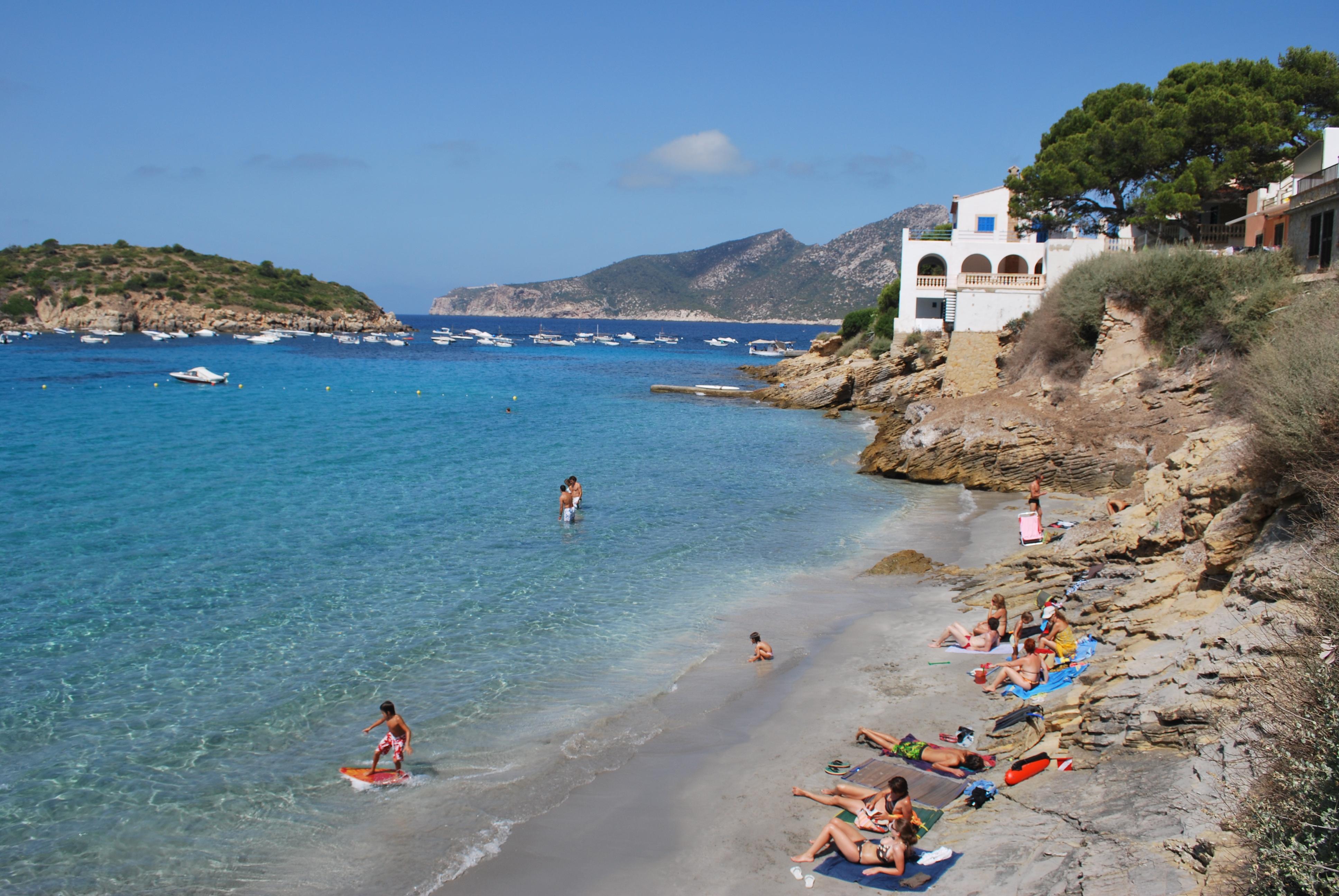 Foto playa Cala En Cucó. Rincon en Sant Elm