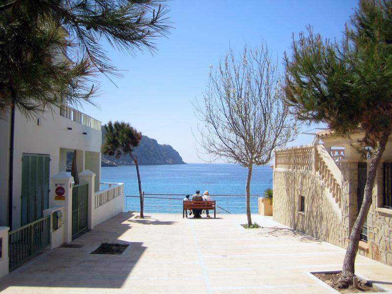 Foto playa Cala En Cucó. San Telmo, Mallorca.