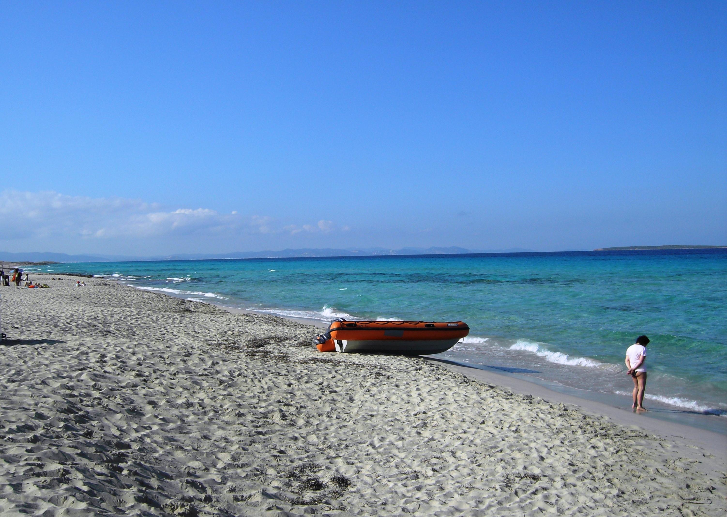 Foto playa Platja de Llevant. llevant