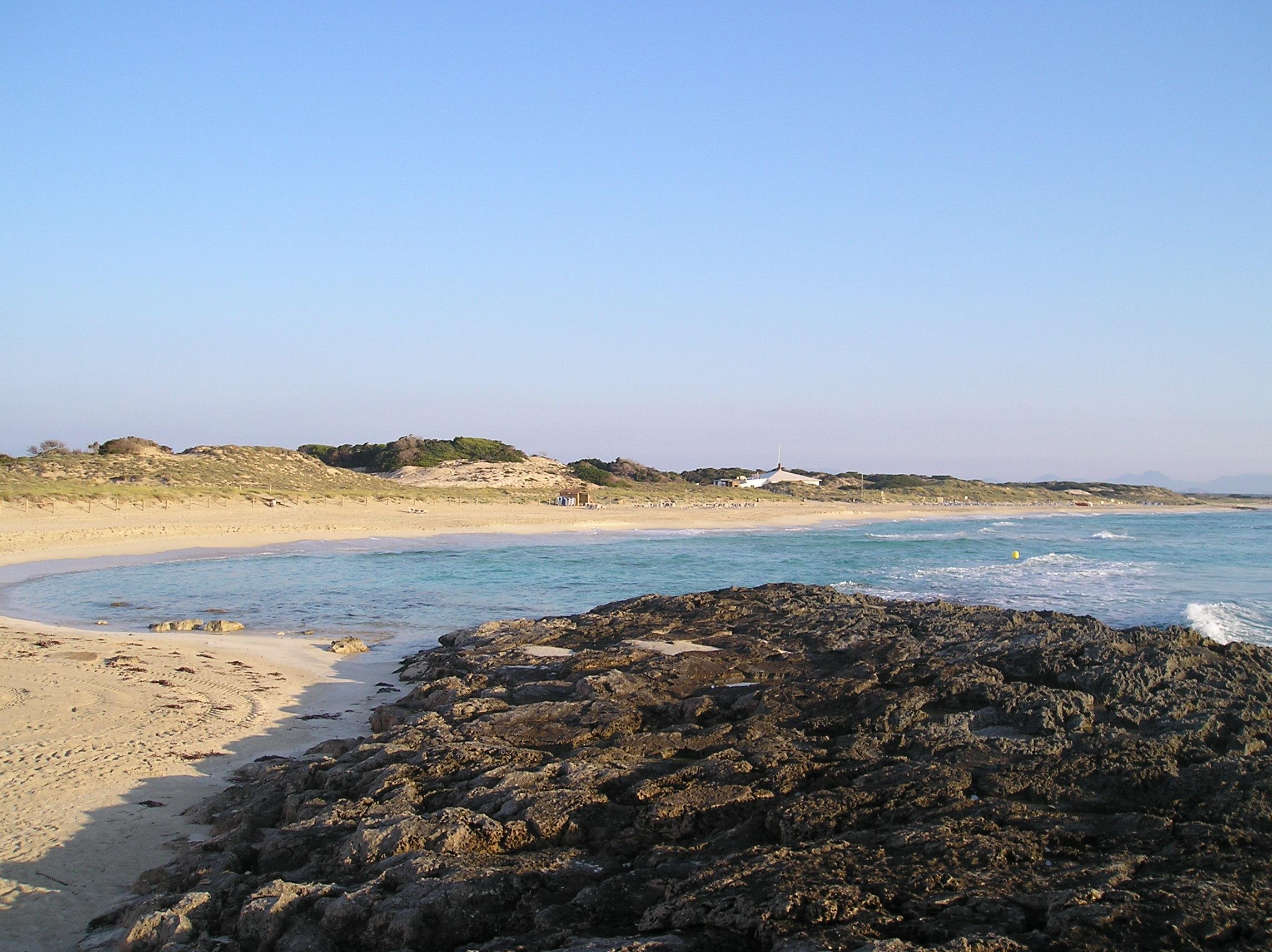 Foto playa Platja de Llevant. Rte.Tanga