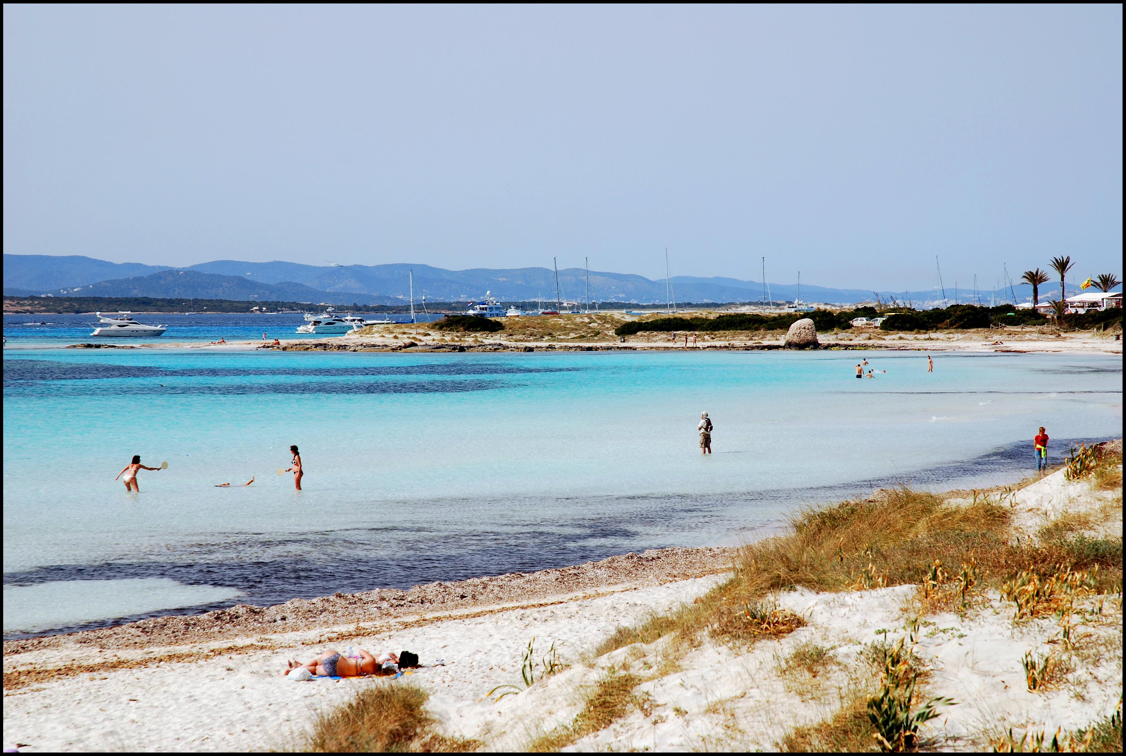 Foto playa Platja de Llevant. Platja de Ponent (Ses Illetes)