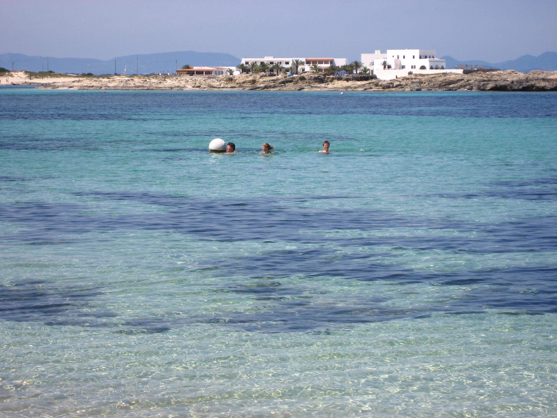 Foto playa Es Pujols. Es Pujols sea