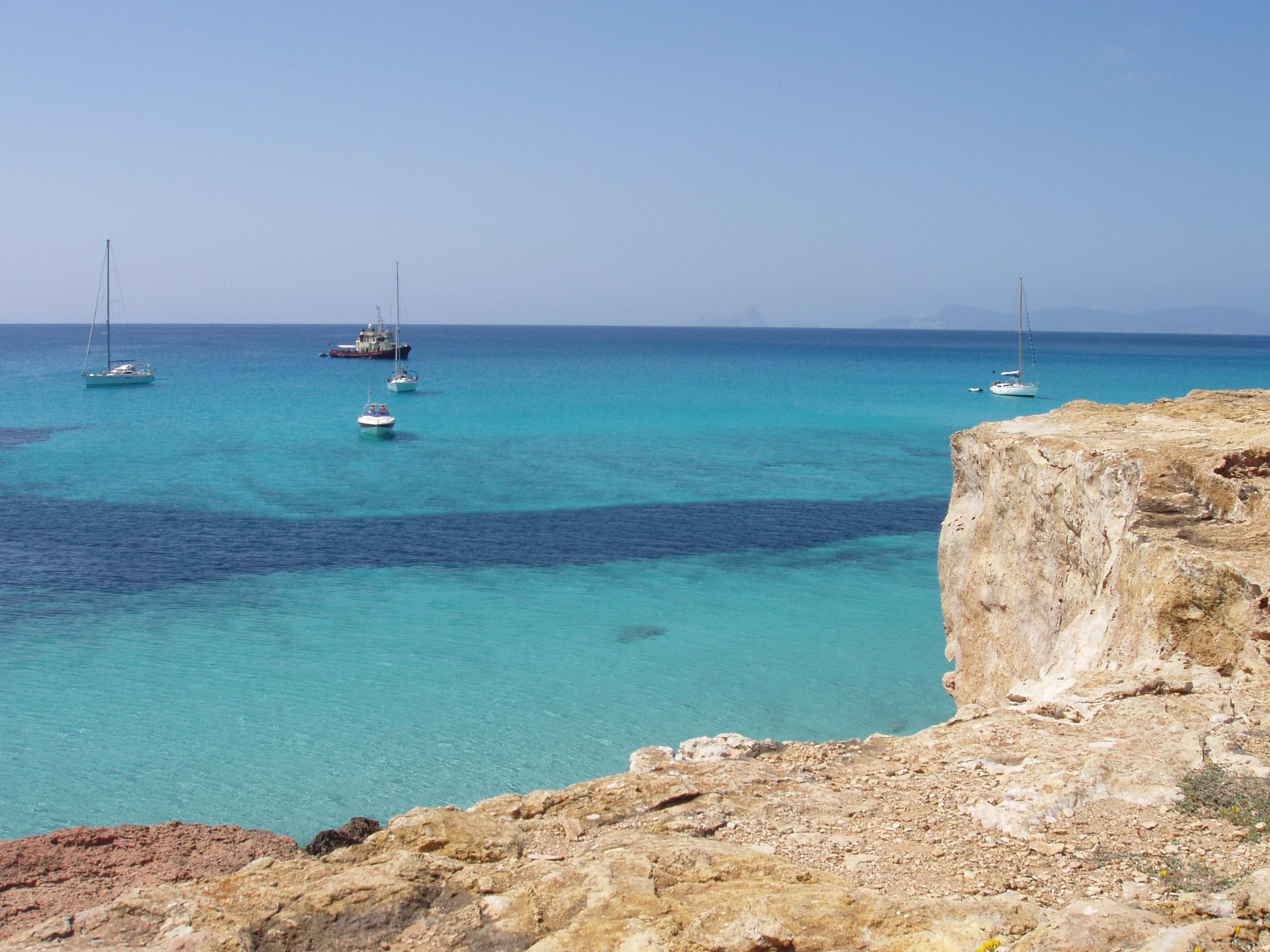 Foto playa Cala en Baster. Formentera